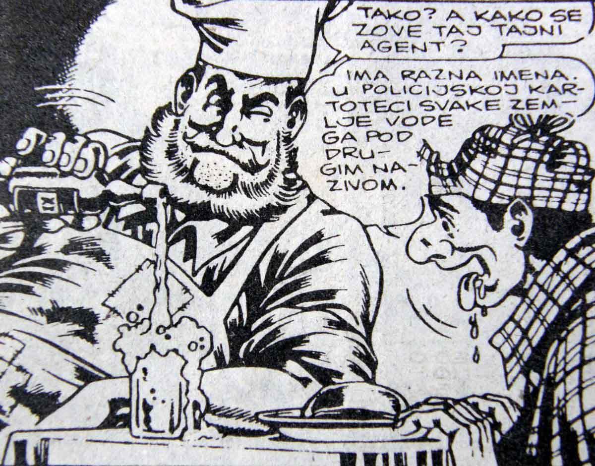 Alan Ford, pjenušavi kadrovi