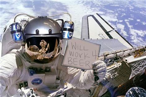 I pivo iz svemira